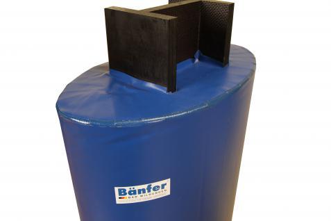 Bänfer Schutzpolster Prallschutz Säulenschutz T-Träger Schaumkern blau Protection