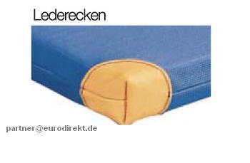 Bänfer Turnen Gerät-Turnmatte light 2 x 1 m Lederecken Schlaufen Sportmatte Schule - Vorschau 4