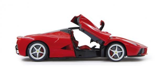 RC Auto Ferrari LaFerrari 1:14 rot LED Licht Funk Schmetterlings-Türen Jamara - Vorschau 4