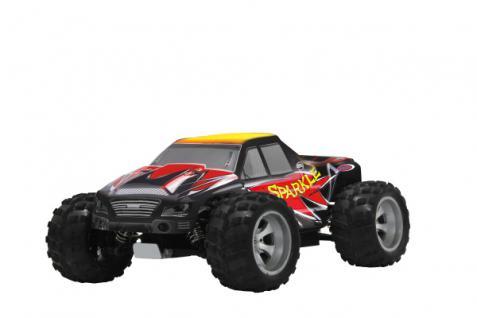 Jamara RC Auto Sparkle RTR 1:18 Buggy 450er Bürstenmotor Öldruckstoßdämpfer Funk