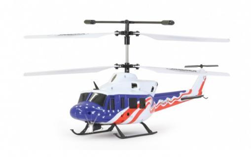 Jamara Hubschrauber Twin Huey Big LED Helikopter Gyro Turbo RC