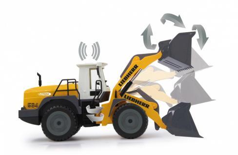 Jamara Radlader Liebherr 564 1:20 ferngesteuert Baufahrzeug RC-Auto - Vorschau 3