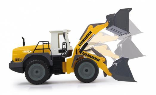 Jamara Radlader Liebherr 564 1:20 ferngesteuert Baufahrzeug RC-Auto - Vorschau 4