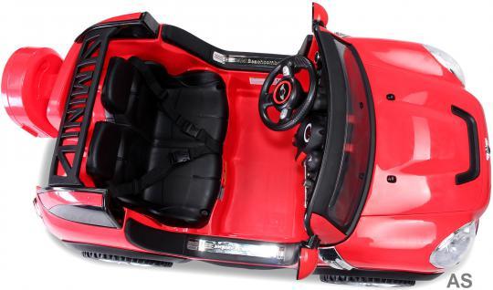 Kinderauto Elektro BMW Mini Beachcomber 2-Sitzer Fernbedienung rot - Vorschau 3