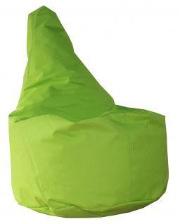 allstars Sitzsack Sitzkissen gefüllt grün 50 x 40 x 75 cm PVC-Polyyester