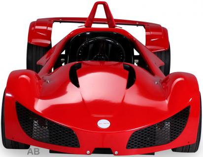 Elektro Kinderauto Rennwagen MGT Sportwagen 1000 W Fernbedienung rot - Vorschau 1