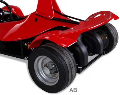 Elektro Kinderauto Rennwagen MGT Sportwagen 1000 W Fernbedienung rot - Vorschau 5