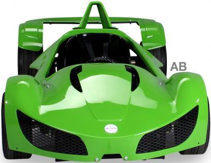 Elektro Kinderauto Rennwagen MGT Sportwagen 1000 W Fernbedienung grün