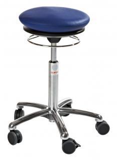 allstars Stuhl Pilates-Stuhl N Rollhocker Drehstuhl Pilates Air Seat blau Hocker