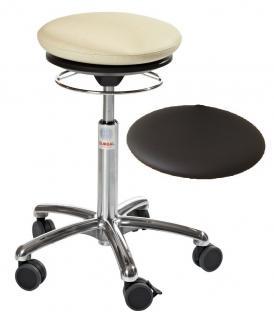 allstars Stuhl Pilates-Stuhl N Rollhocker Drehstuhl Pilates Air Seat schwarz Hocker