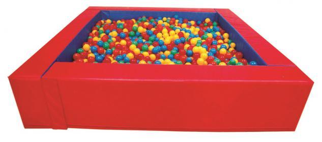 Bällebad Ballpool Therapie-Pool Großbausteine Softbausteine quadratisch allstars