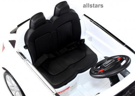 Kinderauto Elektro Audi Q7 E-Auto lizensiert 2x 45W-E-Motor weiss - Vorschau 4