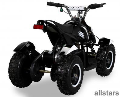 Allstars Pocketquad schwarz-weiß Cobra 800 Watt Miniquad - Vorschau 3