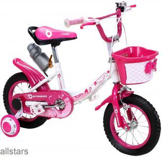 Kinderfahrrad 12 Zoll Hello Daisy pink Fahrrad ActionBikes