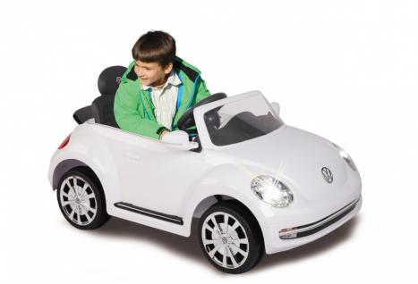 Jamara Ride On VW Beetle Kinderauto Elektroauto weiß 2, 4G 6V