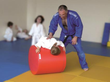 Turnen BUDO Zylinder Ø 60 Kampfsport Judo Schaumstoff Breitensport Sport Bänfer Trainingsmodul