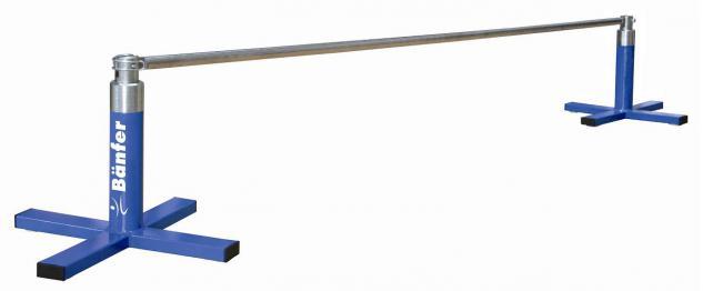 Turngerät Bodenreck mit Reckstange Übungsreck 2, 40 m Reck Bänfer