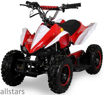 Allstars Kinderquad Quad Pocket-Quad Racer 49cc rot-weiß