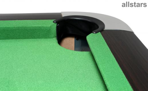 Allstars Billard Billardtisch 7ft Poolbillard Dekor dunkel - Vorschau 3