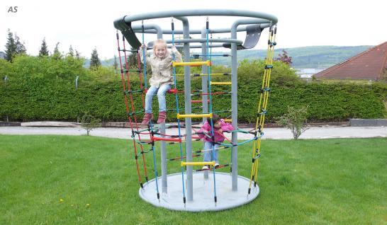 Karussell Zentro Kletterturm Spielturm Seilgerüst Kreisel Kletterkarrussel Seilkarussel Hally Gally Spogg GmbH