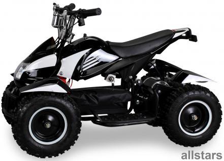 Allstars Pocketquad schwarz-weiß Cobra 800 Watt Miniquad