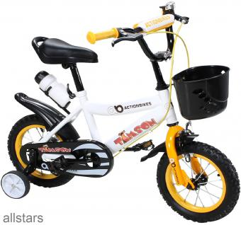Kinderfahrrad 16 Zoll Hello Timson gelb Fahrrad ActionBikes