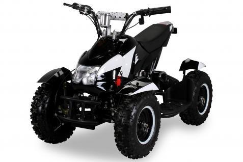 Allstars Pocketquad schwarz-weiß Cobra 800 Watt Miniquad - Vorschau 2
