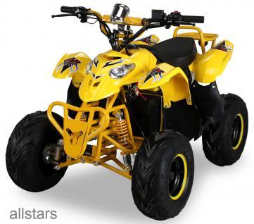 Kinder Elektro-Quad S-5-Polari 1000 Watt gelb