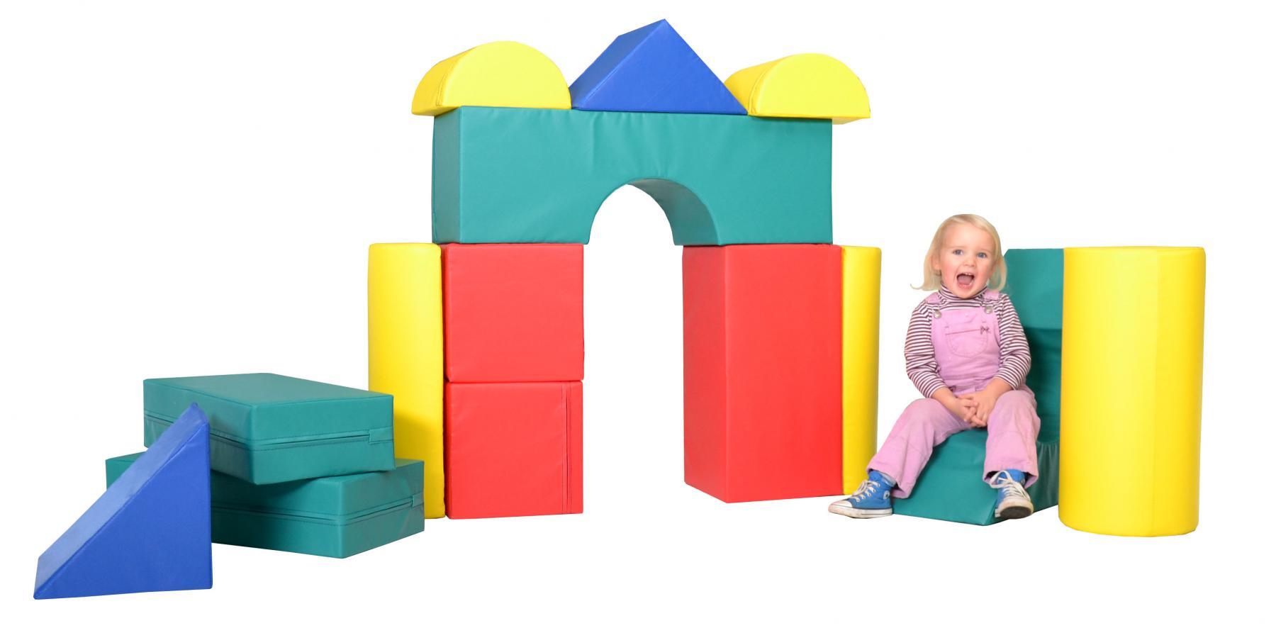 b nfer bausteinsatz 14 tlg softbausteine maxi bausteine gro bausteine schaumstoff kaufen bei. Black Bedroom Furniture Sets. Home Design Ideas