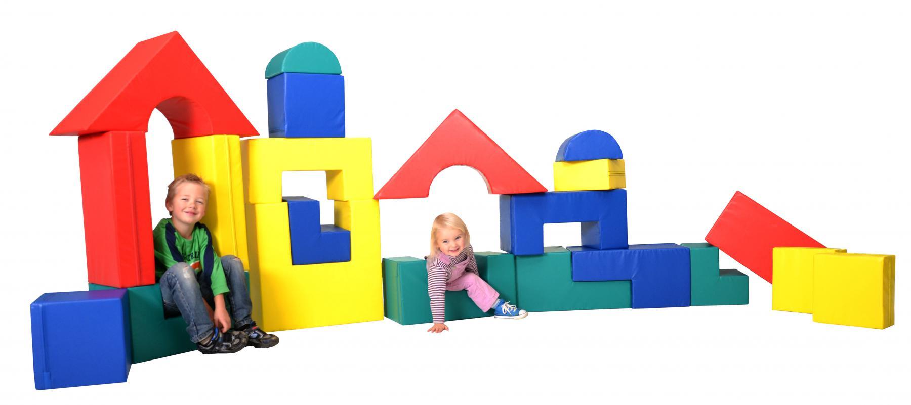 b nfer bausteinsatz 21 tlg set softbausteine maxi bausteine gro bausteine schaumstoff kaufen. Black Bedroom Furniture Sets. Home Design Ideas