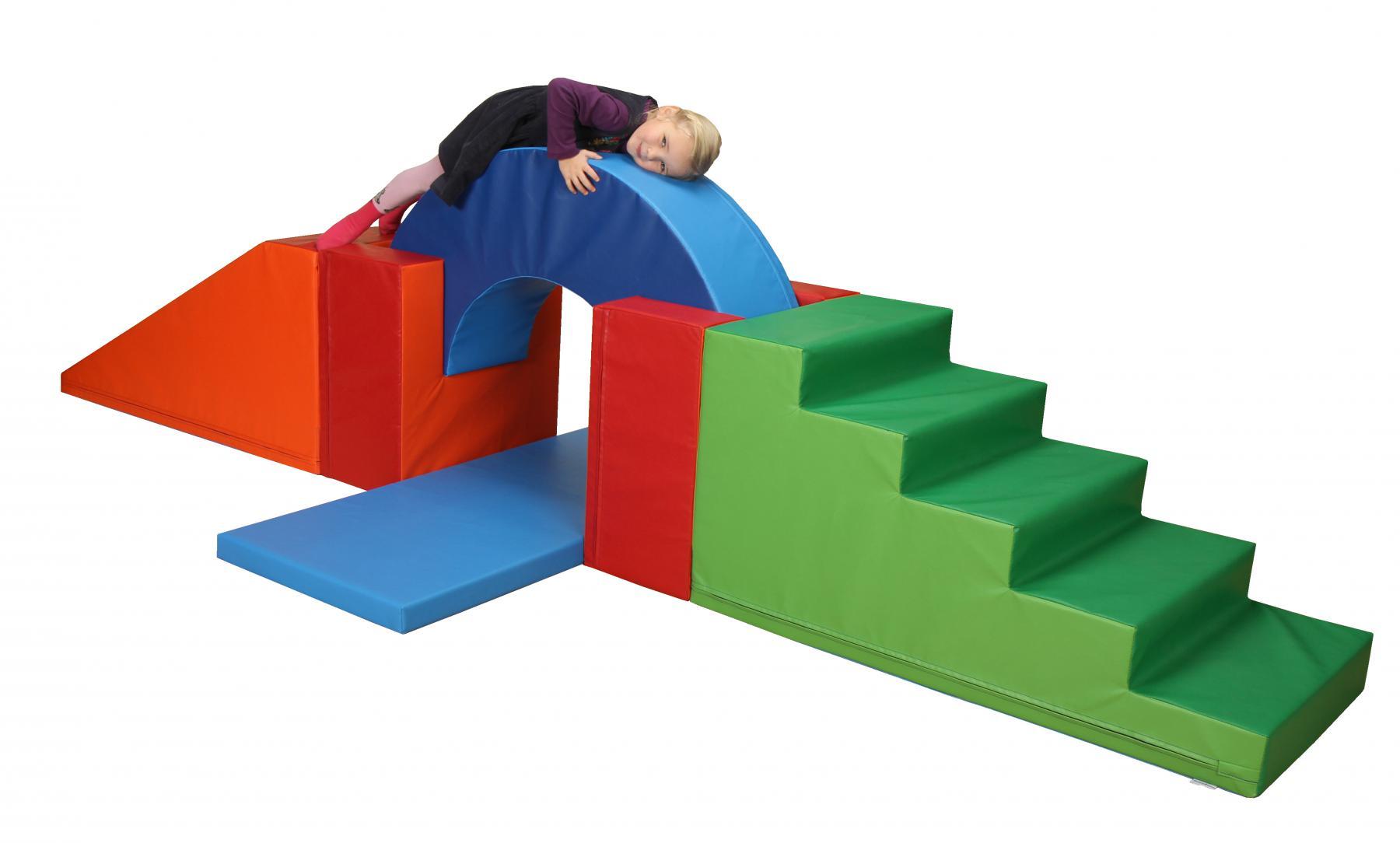 b nfer softbausteine baumodul 6 tlg bausteine bausteinsatz maxi schaumstoff kaufen bei euro. Black Bedroom Furniture Sets. Home Design Ideas