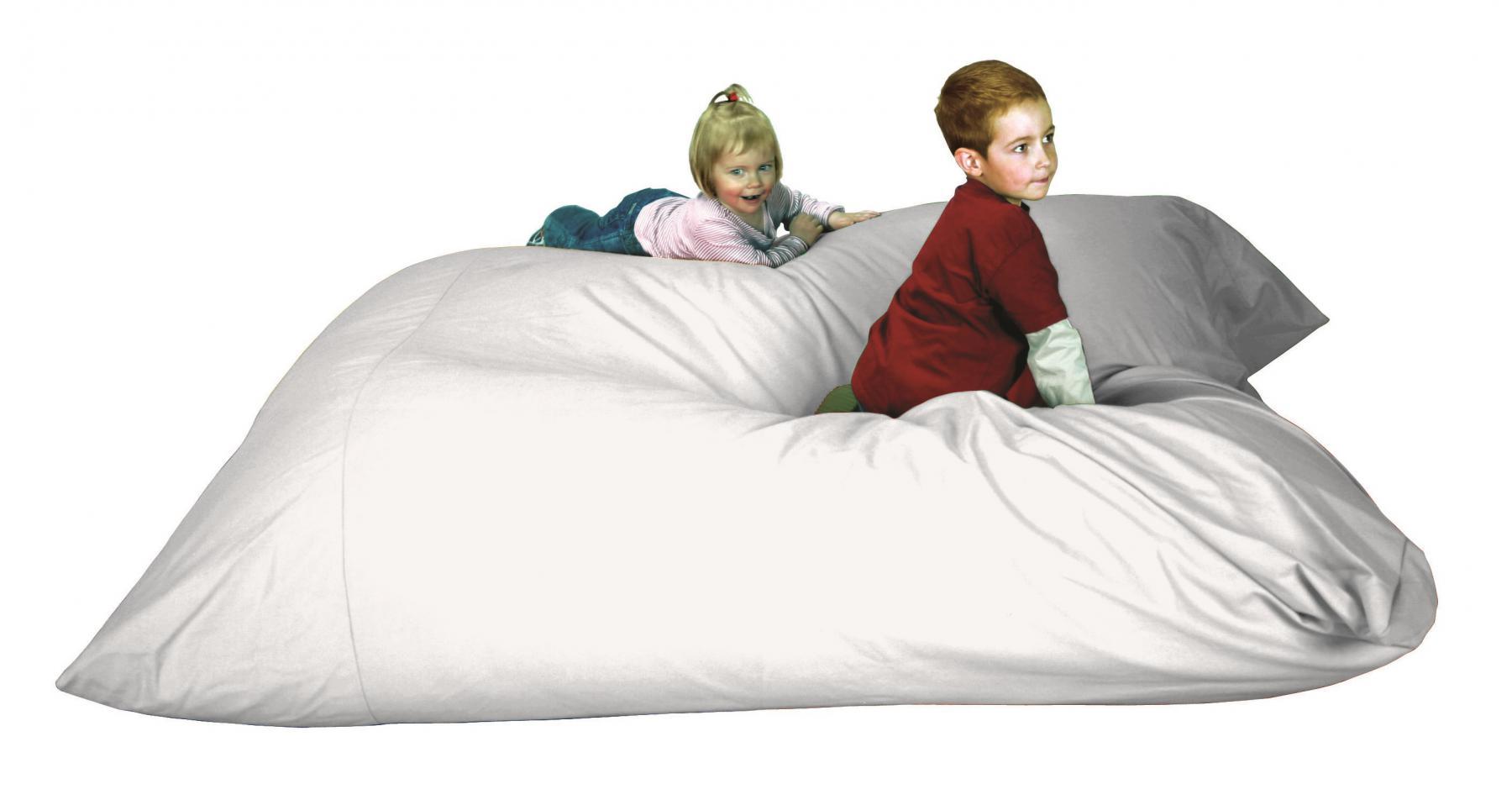 b nfer snoezel element kuschelkissen riesenkissen wei. Black Bedroom Furniture Sets. Home Design Ideas
