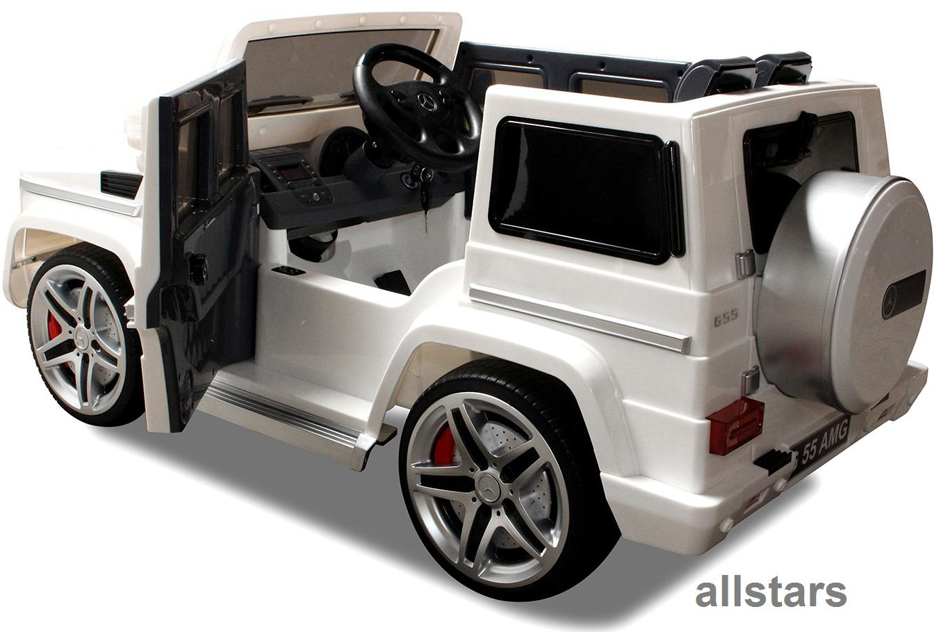 elektro kinderauto mercedes amg g55005 lizenziert. Black Bedroom Furniture Sets. Home Design Ideas