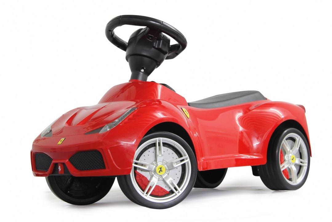 jamara rutscher ferrari 458 rot rutschauto ledersitz. Black Bedroom Furniture Sets. Home Design Ideas