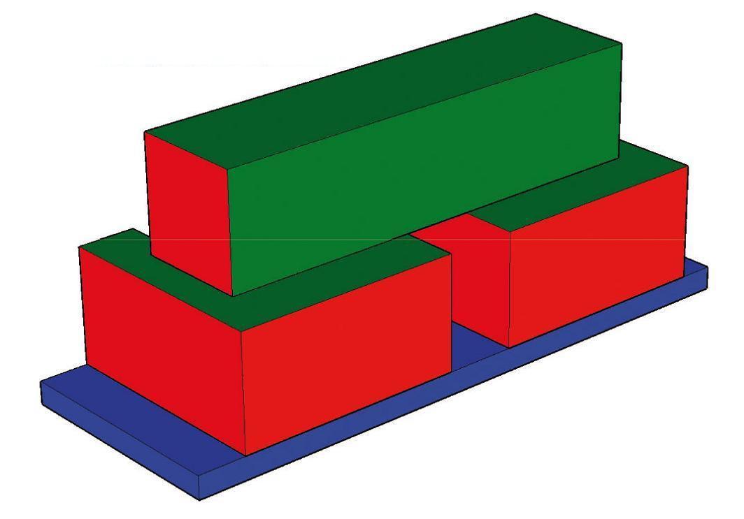b nfer softbausteine bausteine gro bausteine schaumstoff 4 tlg baumodul maxi kaufen bei euro. Black Bedroom Furniture Sets. Home Design Ideas