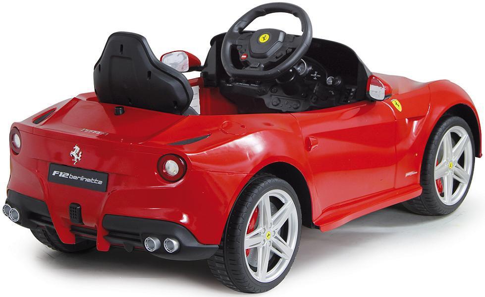 jamara ferrari f12 berlinetta edition 2 gang automatic kinderauto kinderfahrzeug mit e motor zum. Black Bedroom Furniture Sets. Home Design Ideas