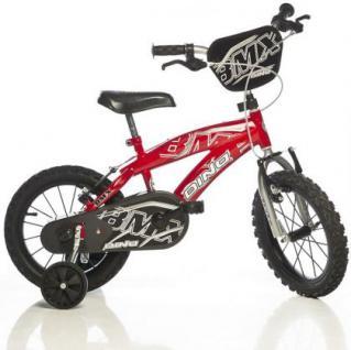 Fahrrad Kinderfahrrad DinoBikes BMX XL-2 14 Zoll Dino Bikes Kleinkindfahrrad mit Luftbereifung 2 Bremsen Jungenfahrrad