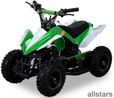 Allstars Kinderquad Quad Pocket-Quad Racer 49cc gruen