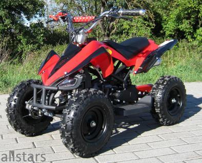 Allstars Kinderquad Quad Pocket-Quad Racer 49cc rot-schwarz