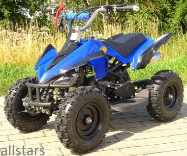 Allstars Kinderquad Quad Pocket-Quad Racer 49cc blau-schwarz