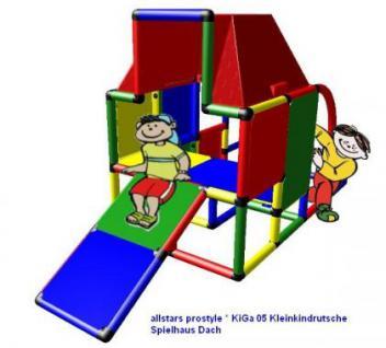 MoveAndStic Baukasten KiGa05 Kletterturm Bausteine Spielhaus Klettergerüst Baukasten Systembaukasten
