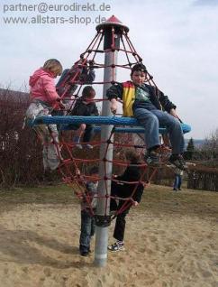 Karussell Midi-Kletterwirbel Kletterturm Spielturm Seilgerüst Kreisel Kletterkarrussel Seilkarussel Hally Gally Spogg GmbH