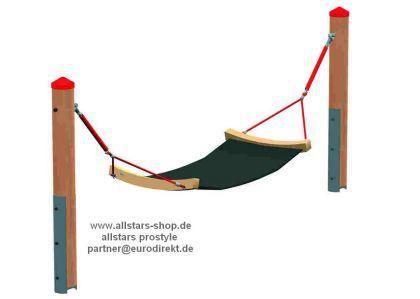 huck mini seilparcours modul gummih ngematte h ngematte. Black Bedroom Furniture Sets. Home Design Ideas