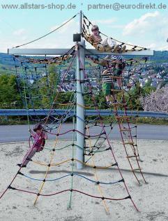 Klettergerüst Netzbaum Seilspielturm Kletterturm Seilgerüst Kletterspass Seilklettergerüst Spielplatzgerät Hally Gally Spogg GmbH