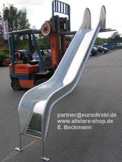 Beckmann Rutsche verzinkt Rutschfläche V2A 3, 75 m PH= 2, 00 m