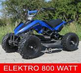 Allstars E-Quad Elektroquad Racer 800W blau Kinderquad