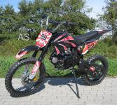 Allstars Dirtbike Pocketbike 125 ccm schwarz
