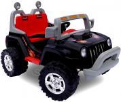 allstars Kinderauto 60W Elektro-Jeep schwarz