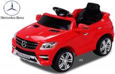 Elektro-Kinderauto Mercedes Benz ML 350 rot 50 Watt
