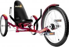 Allstars MOBO® Cruiser TRITON PRO 3 Dreirad-Fahrrad rot